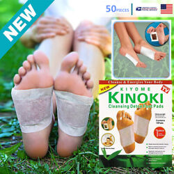 Kyпить 50 PCS Premium Detox Foot Pads Organic Herbal Cleansing Healthy Care на еВаy.соm