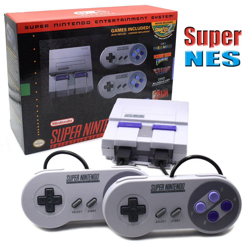 Super Nintendo Classic Edition Console SNES Mini Entertainment System-Brand New! | eBay