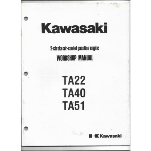 original-oem-kawasaki-ta22-ta40-ta51-2stroke-engine-workshop-manual-999690905