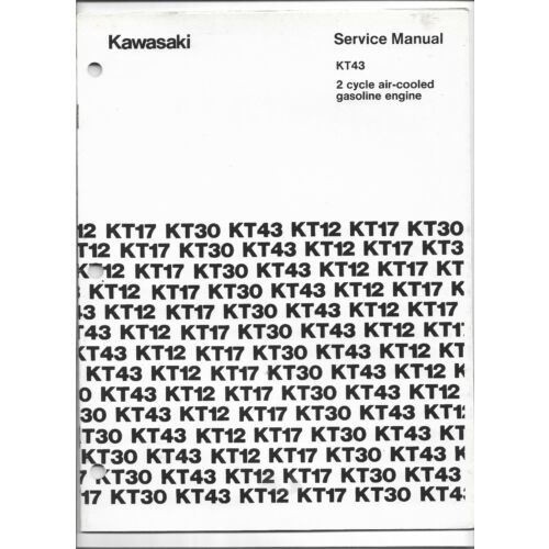 original-kawasaki-kt43-2-cycle-air-cooled-gas-engine-service-manual-999690479