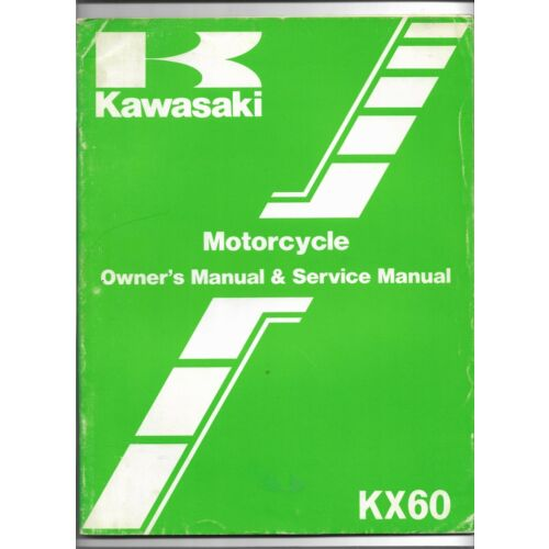original-oe-oem-kawasaki-kx60-motorcycle-owners-service-manual-99920121401