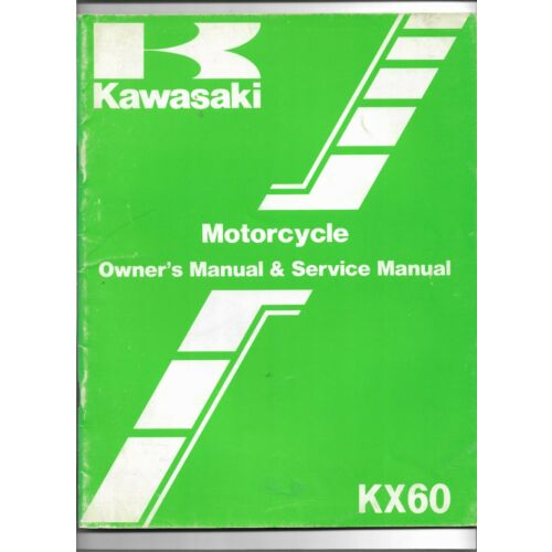 original-oe-oem-kawasaki-kx60-motorcycle-owners-service-manual-99920125001