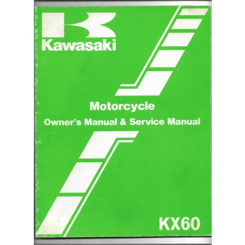 original-oe-oem-kawasaki-kx60-motorcycle-owners-service-manual-99920129101