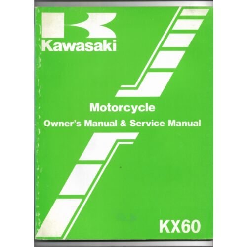 original-oe-oem-kawasaki-kx60-motorcycle-owners-service-manual-99920132901