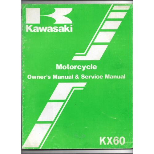 original-oe-oem-kawasaki-kx60-motorcycle-owners-service-manual-99920137001