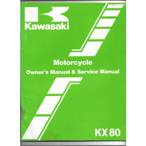 original-oe-oem-kawasaki-kx80-motorcycle-owners-service-manual-99920129001