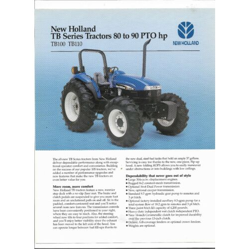 original-oem-new-holland-tb-series-tb100-tb110-tractor-sales-brochure-31010020
