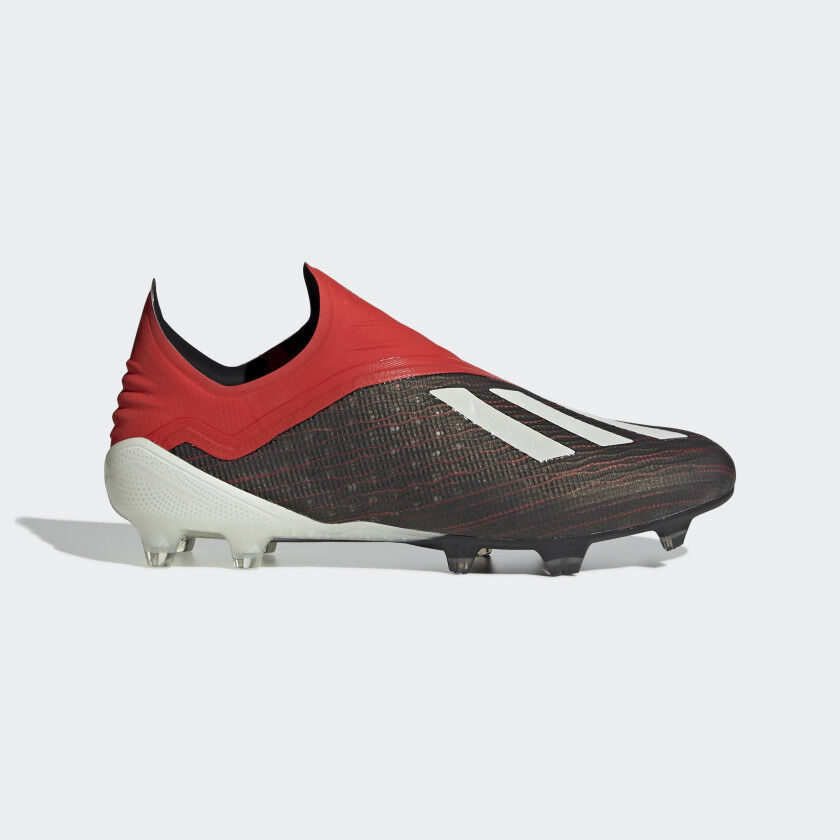 8860c8c65 Details about Adidas Men's X 18+ FG Soccer Cleats (Core Black/Active Red)  BB9335*