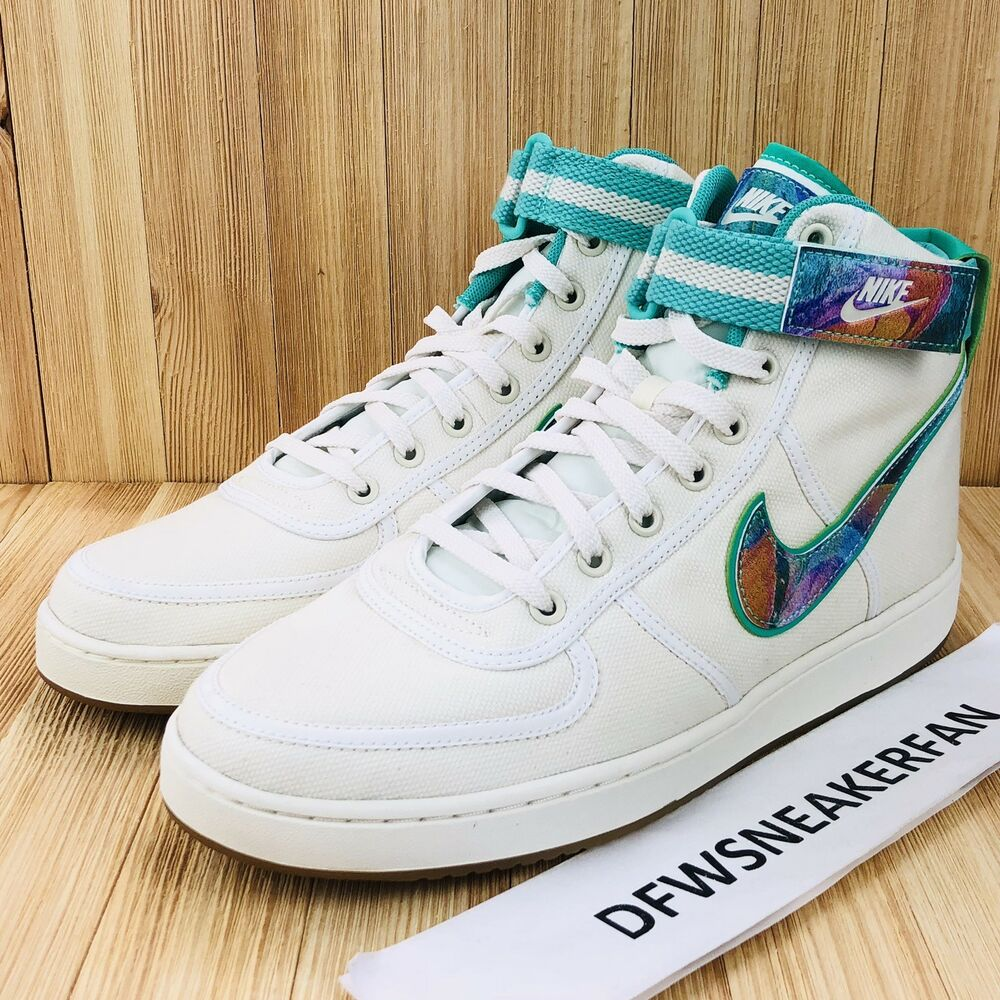 1616e3fdcd6 Details about Nike Air Vandal High Supreme TD Men s Size 10 Galaxy Sail  White AQ5643-100 New