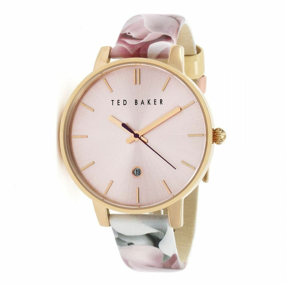 80ca80786 Ted Baker TB10030695  Kate  Patent Leather Floral Strap Women s 40mm Watch.  843218043595