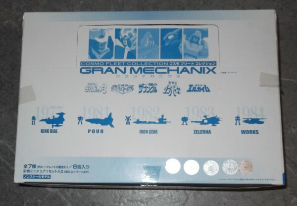 Megahouse Bandai COSMO FLEET COLLECTION GRAN MECHANIX box completo ZAMBOT