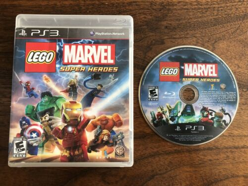 LEGO Marvel Super Heroes (Sony PlayStation 3, 2013) W/ Case Black Label