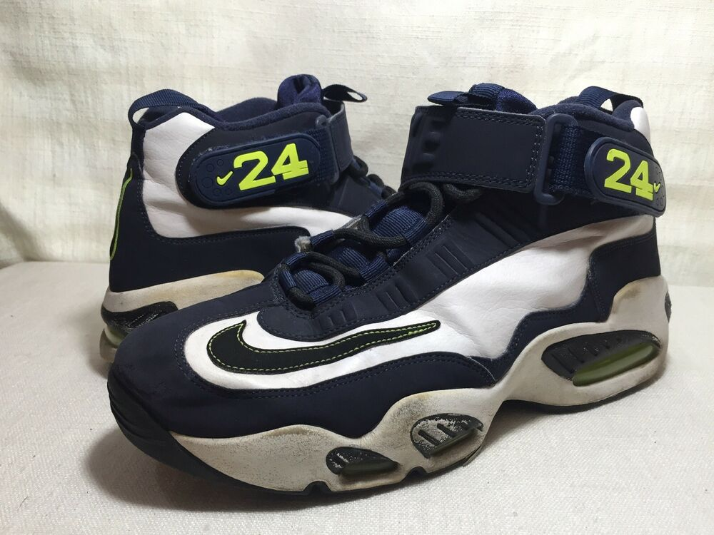76aa65fd6623 Details about Mens Nike Air Griffey Max 1 Stealth Seattle Seahawks Navy  Size 10.5 (354912-102)