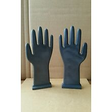 PAIR Vintage Industrial Glove Mold HANDS Great For Jewelry Display  12