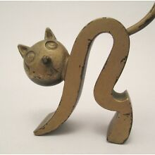 Art Deco Richard Rohac Austrian Bronze Cat Ring Holder