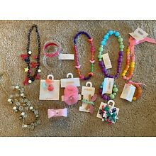 Gymboree Accessories Lot Hair Bracelets Necklaces Rings New Stocking Stuffers!