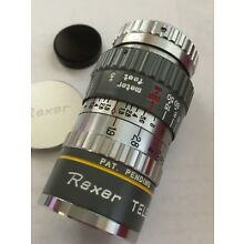 Vintage REXER Telephoto 38mm f1.9 HQ 8mm 2.5