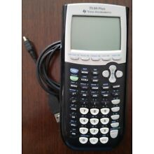 Texas Instruments TI-84 Plus CE Graphing Calculator w/ cable
