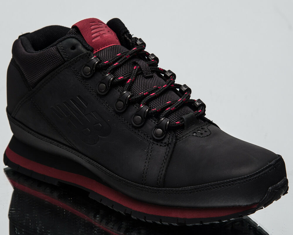 5150ea3df75a Details about New Balance 754 Men s New Black Burgundy Warm Casual Shoes  Boots H754-KR