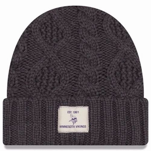 95c6e472890788 Details about New Era NFL Flurry Cuff Knit Beanie, Adult One Size, Dark  Graphite *MANY TEAMS*