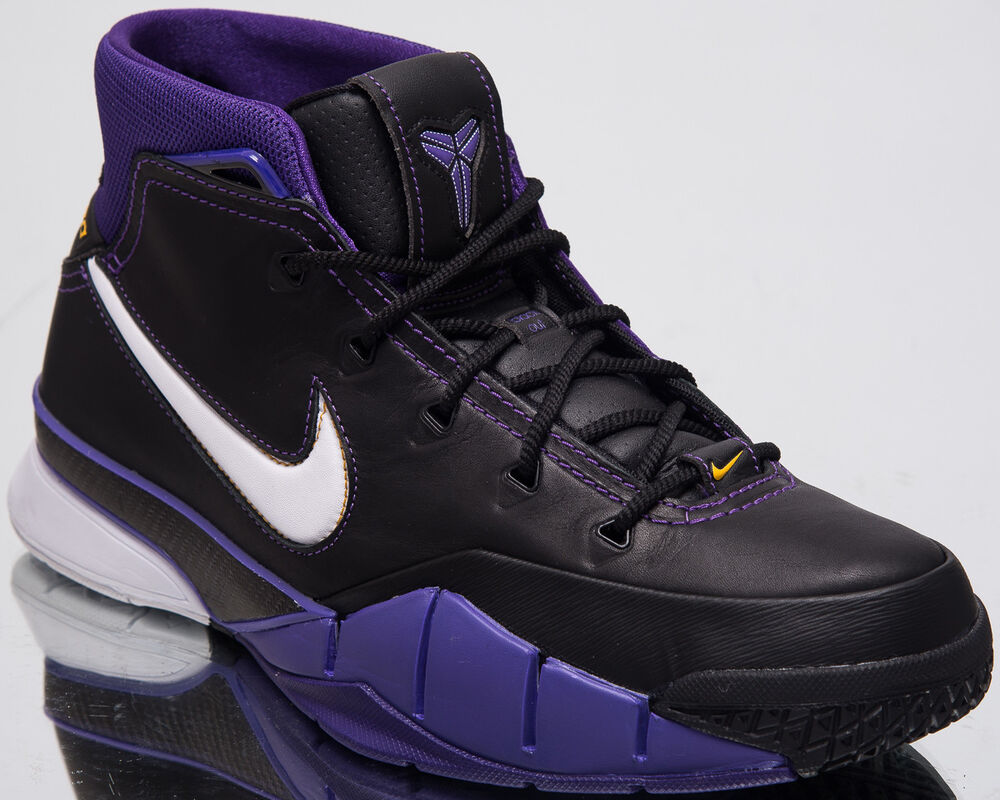 check out 39445 999ce Details about Nike Kobe 1 Protro Purple Reign LA Lakers Bryant Basketball  Sneakers AQ2728-004