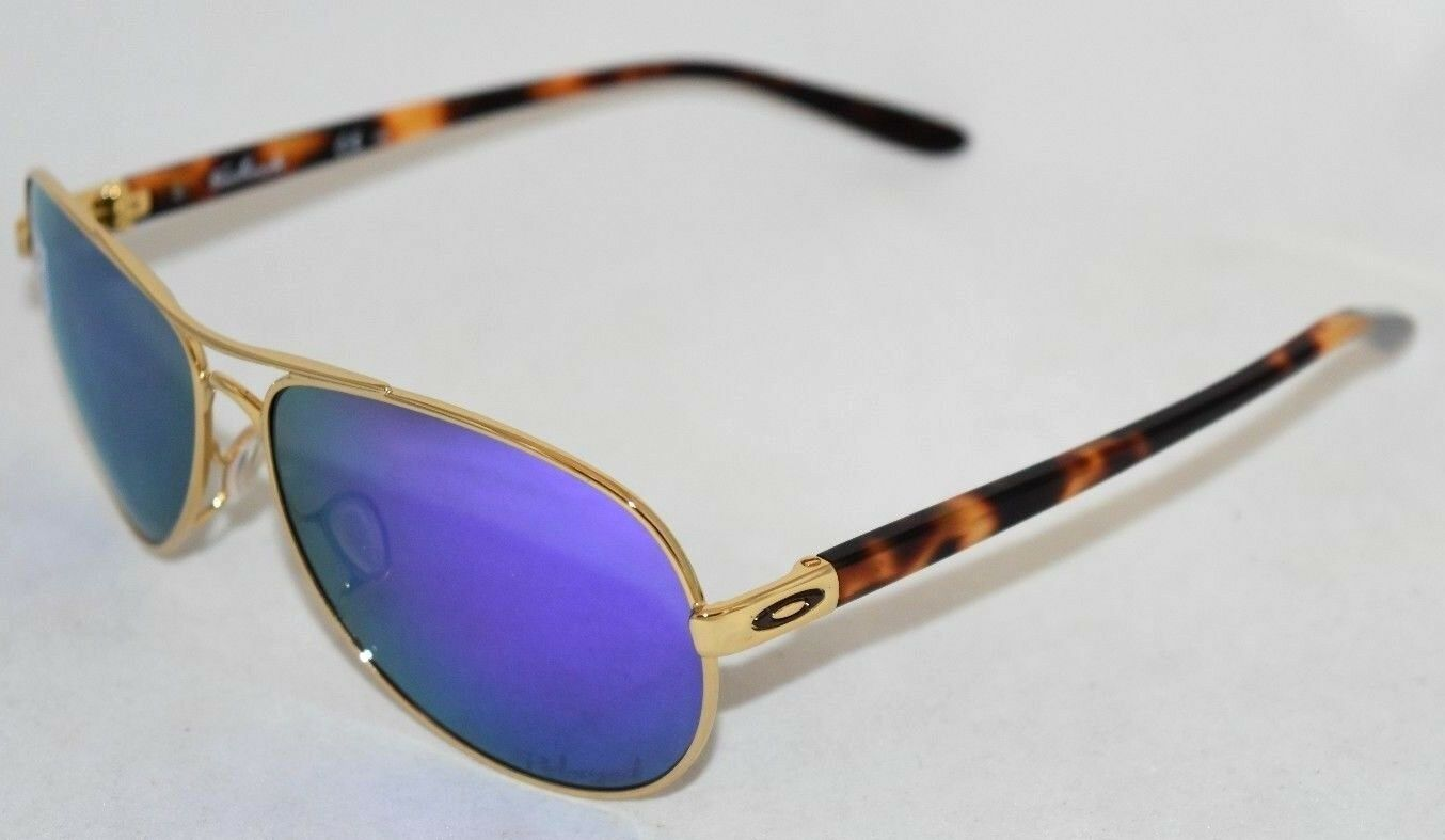 3a5215804fc10 ... UPC 888392125637 product image for Oakley 4079-18 Feedback Women s  Aviator Sunglasses Gold violet ...