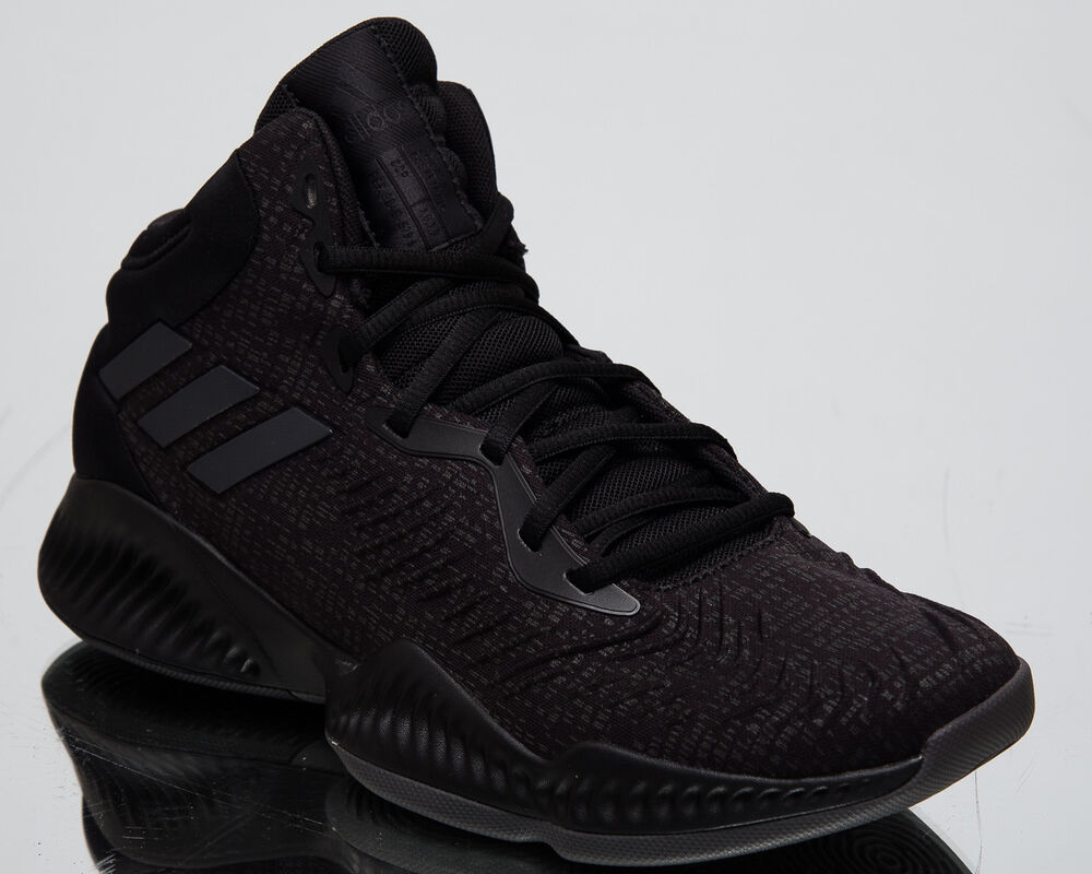 pretty nice 3ae73 fad1d Details about adidas Mad Bounce 2018 New Men s Basketball Shoes Core Black  Sneakers AH2695