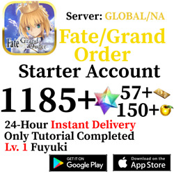 Kyпить [ENGLISH/GLOBAL/NA][INSTANT] 1100+ SQ Fate Grand Order FGO Lv. 1 Starter Account на еВаy.соm