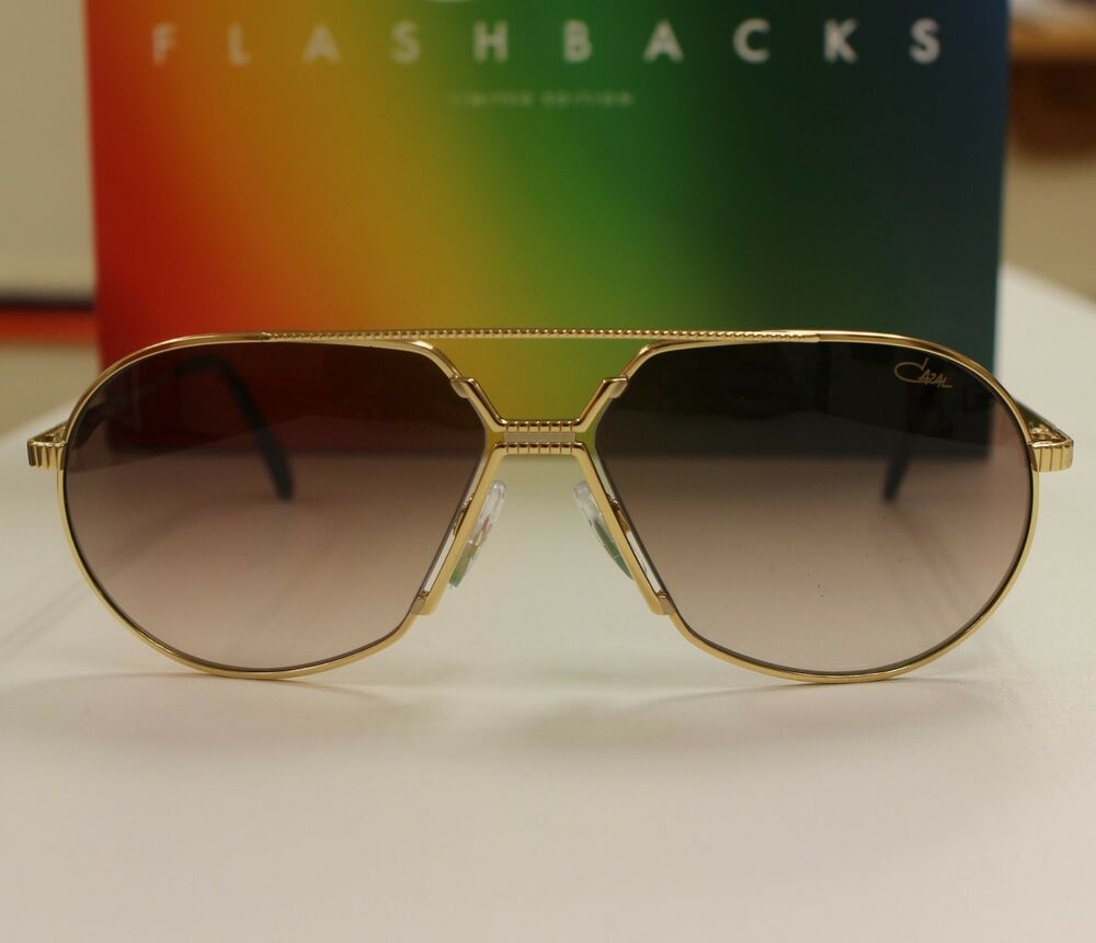 534ecae822e Cazal 968 Flashbacks Sunglasses  Limited Edition  Gold NEW
