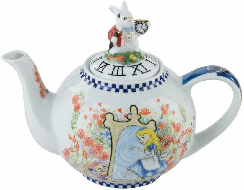Cardew Design Alice In Wonderland 2 Cup Teapot Through The Looking