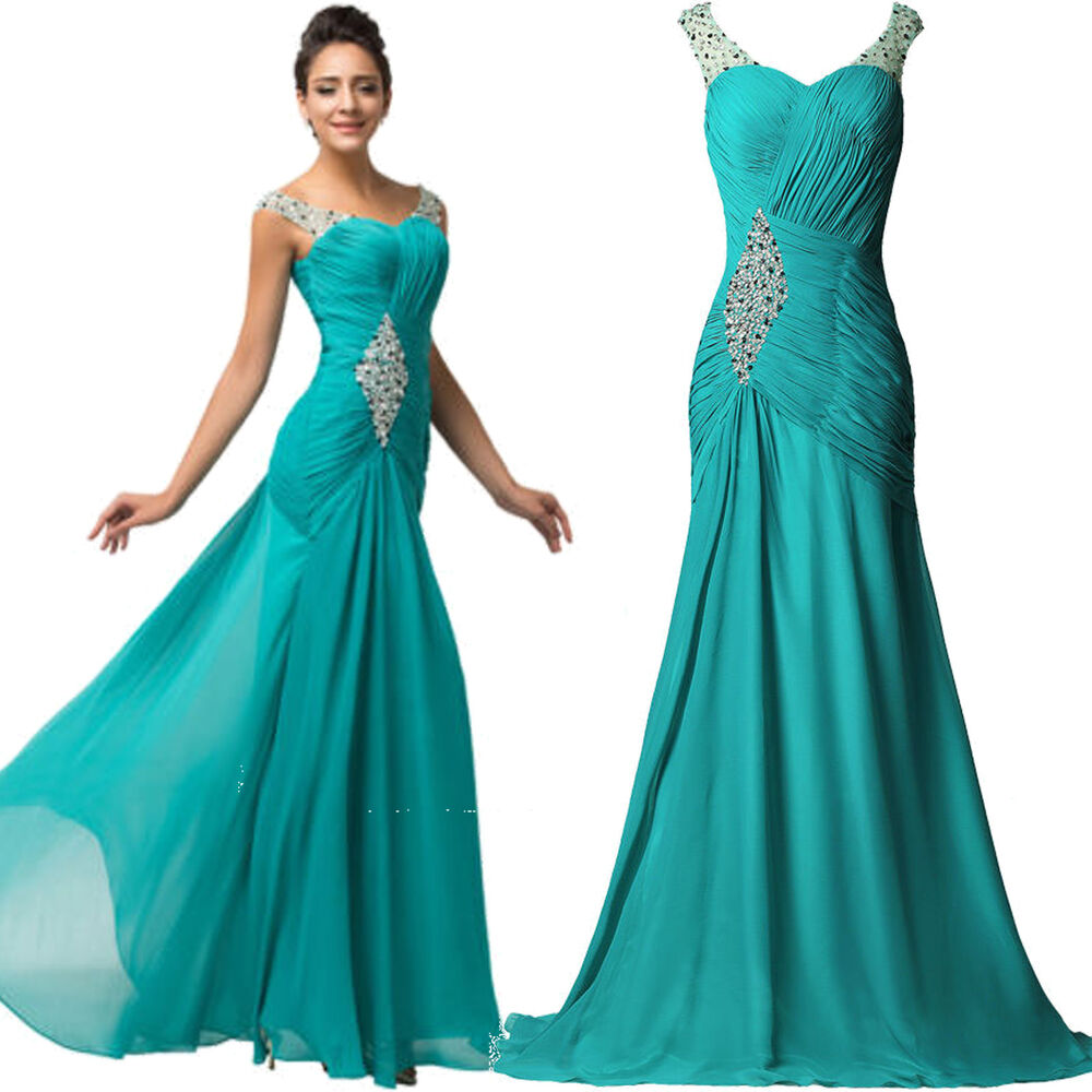 1e1488f71127 Details about Clearance~ Women Formal Prom Wedding Dresses Cocktail Pageant  Evening Ball Gown