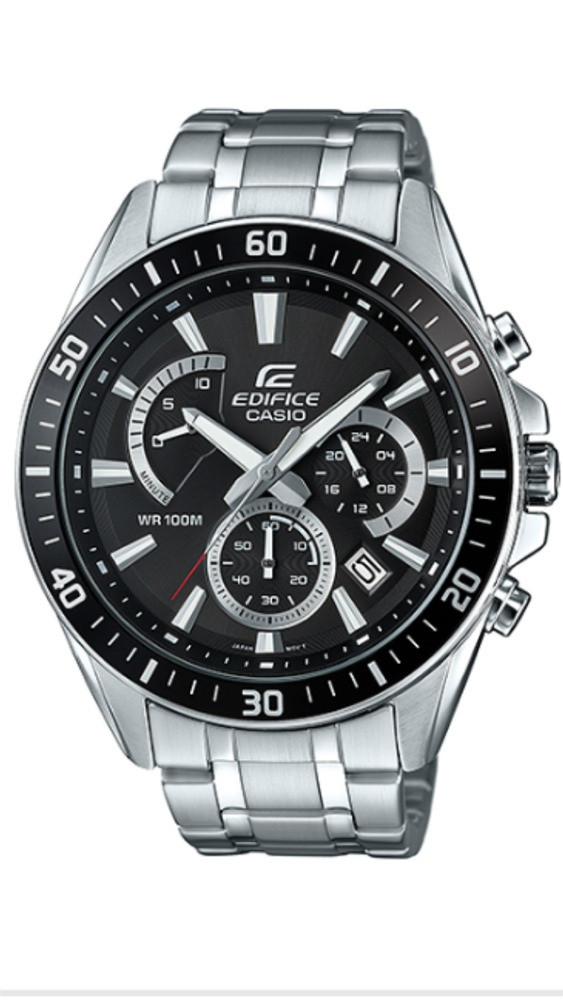 74affb1fd070 Details about CASIO EDIFICE Watch EFR-552D-1A Stainless Steel 100m Men s  Watches EFR552