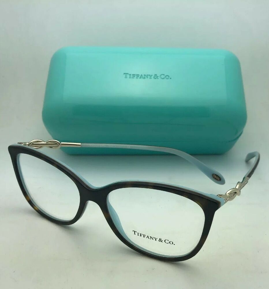 317dc638aa86 Details about New TIFFANY   CO. Eyeglasses TF 2143-B 8134 53-15 140  Tortoise Blue w  Crystals