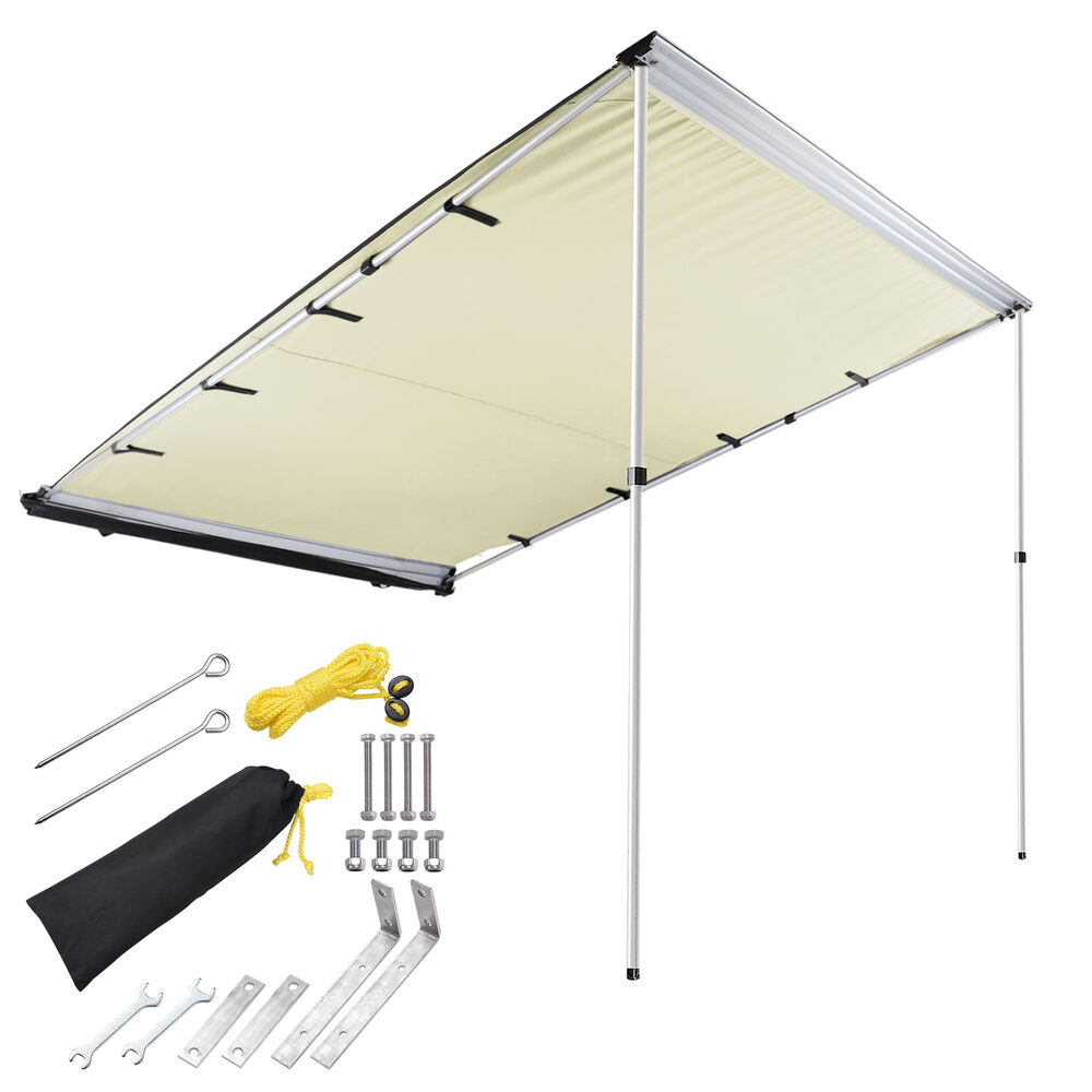 6.6x8.2' Car Side Awning Rooftop Tent Sun Shade SUV ...
