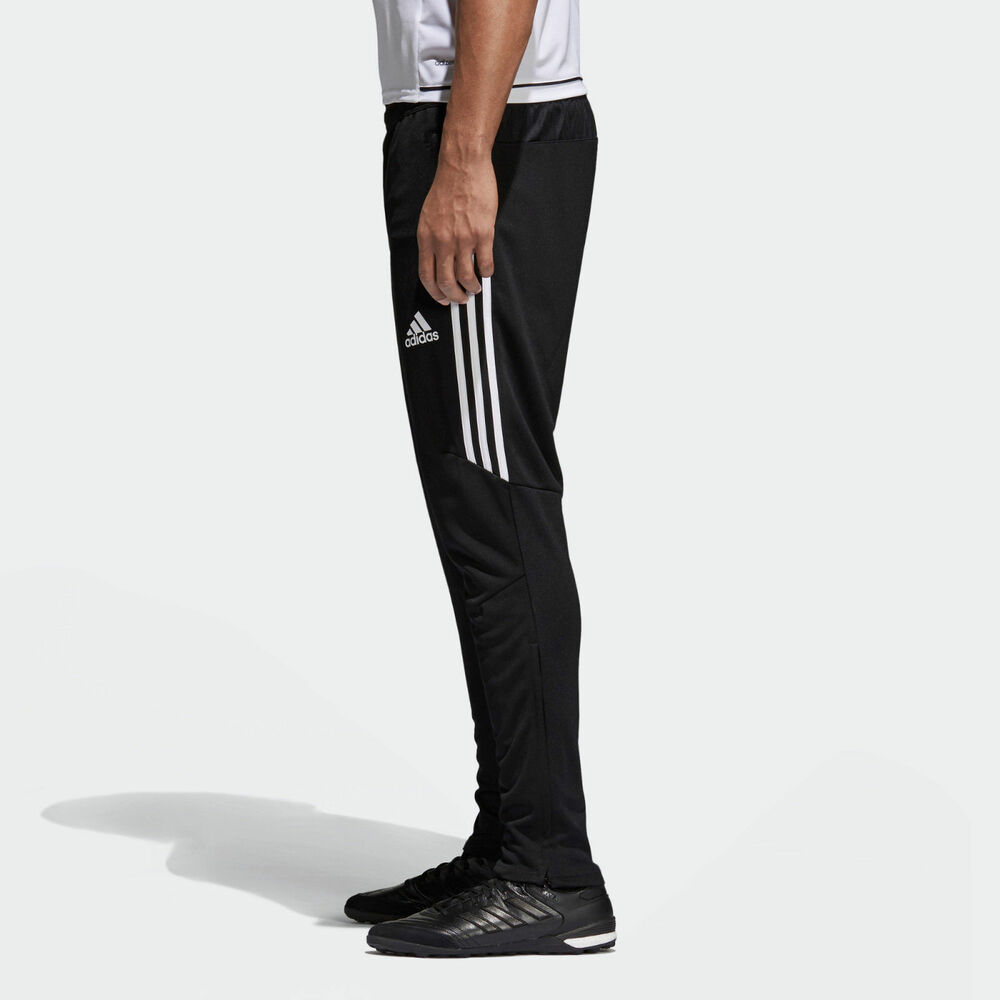 Details about Adidas Tiro 17 training pants mens black white BS3693  Athletic Men s New e327b40c9