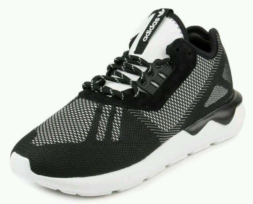 39dbf5b07f1b0e Details about  S74813  adidas Tubular Runner Weave Running Shoes - Black -  Mens  NEW!