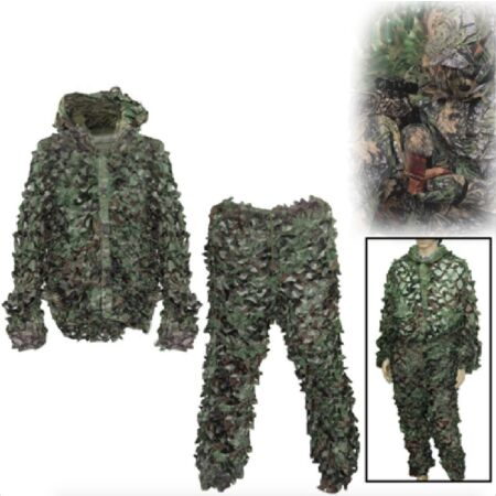 img-Camouflage Battle Dress Fishing Hunt Jacket Trousers Gotcha Paintball