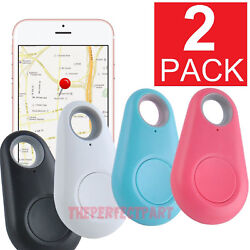 Kyпить 2-PACK Bluetooth Wireless Anti Lost Tracker Alarm Key Pet Finder GPS Locator USA на еВаy.соm