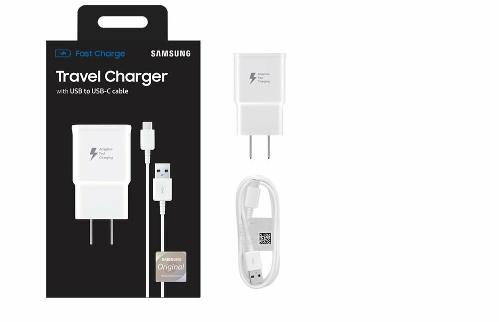 Details About Oem Samsung Fast Charge Usb C Phone Wall Charger New Charging Original