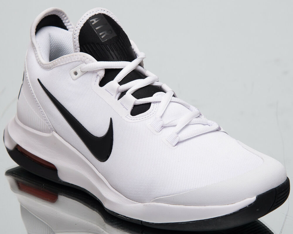 super popular 9c4c0 fc1f6 Details about Nike Air Max Wildcard HC Men s New White Black Tennis Shoes  AO7351-100