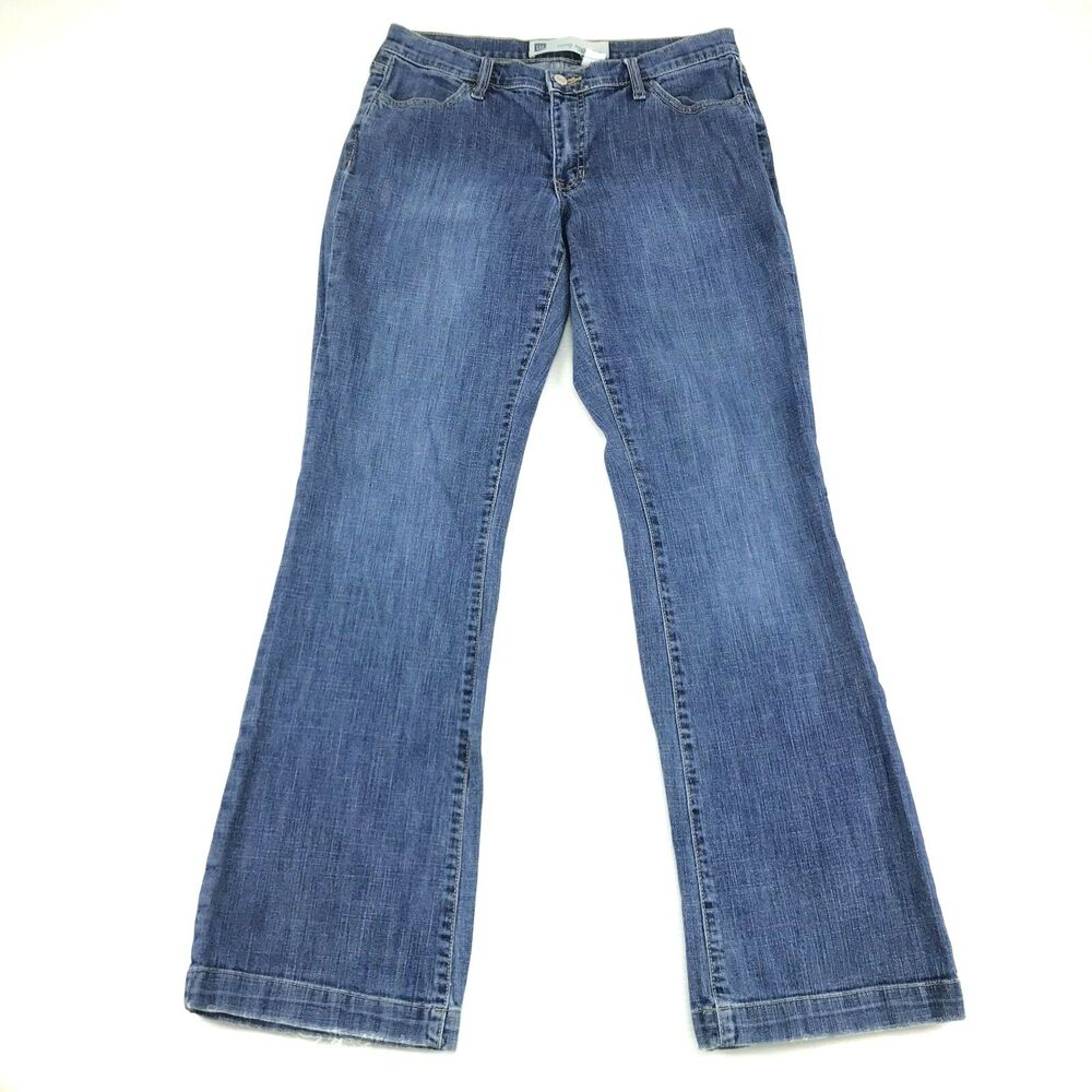 Washed Stretch denim Straight leg Jeans