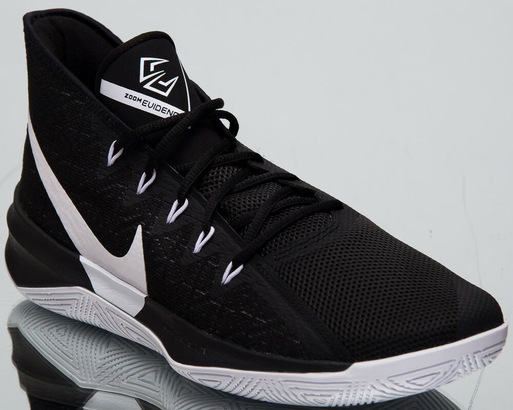 Details about Nike Zoom Evidence III New Men s Basketball Shoes 2019 Black  White AJ5904-002 85fd24d371e