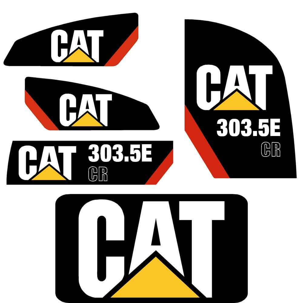 Details about 303 5e cr decals stickers repro kit cat 303 5e cr decals