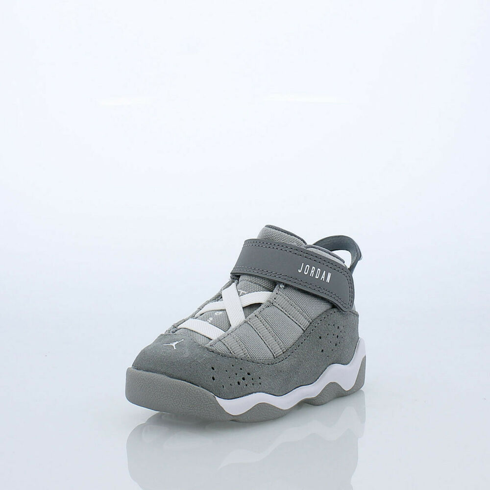 a210d35f80171c Details about Air Jordan 6 Rings BT   323420 014 Cool Grey Toddler SZ 4 - 10