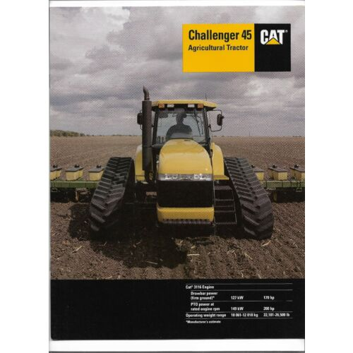 21997-caterpillar-challenger-45-agricultural-tractor-sales-brochure-aehq501103