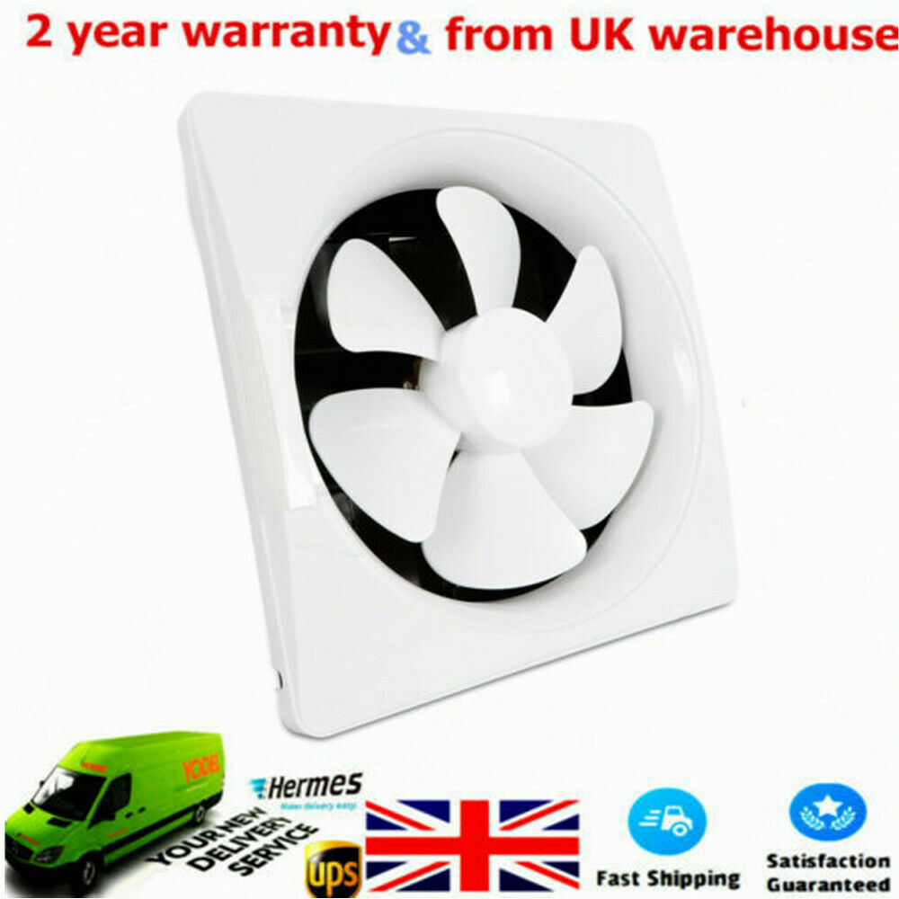Details about 12 inch low noise bathroom kitchen ventilation extractor exhaust fans hot sale