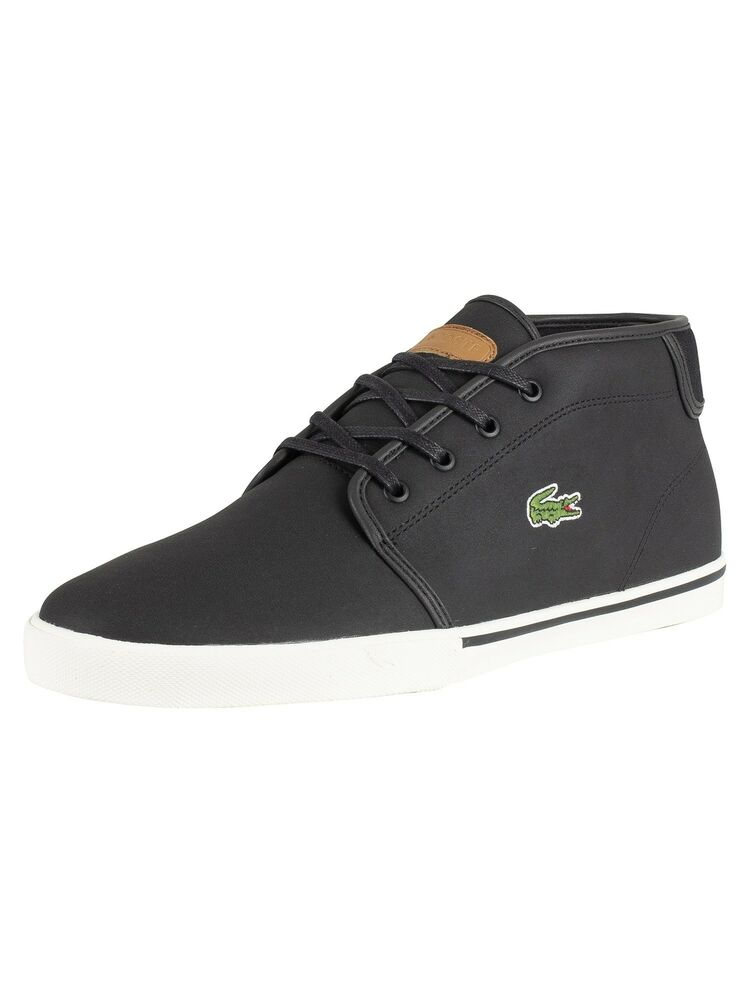 f100009636398 Lacoste Men s Ampthill 119 1 CMA Leather Trainers
