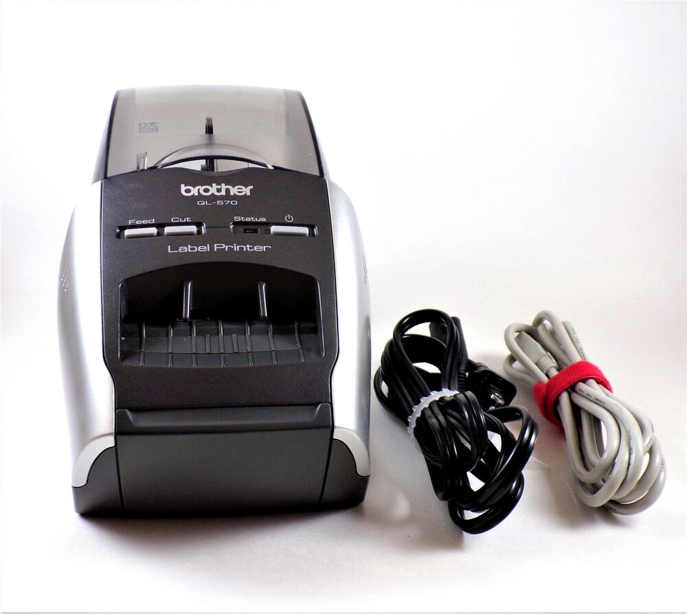 Brother QL-570 Professional Thermal Label Printer With Labels