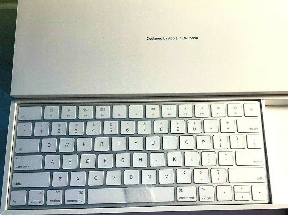 51097fcee50 Details about NEW MLA22LL/A APPLE RECHARGEABLE WIRELESS MAGIC KEYBOARD 2  A1644
