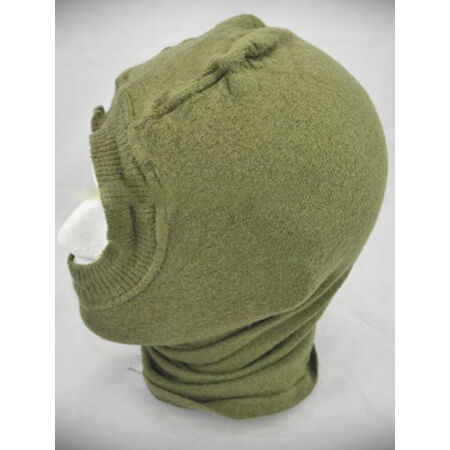 img-UK BRITISH ARMY SURPLUS ISSUE G1 OLIVE GREEN COLD WEATHER ECW BALACLAVA,HEADOVER